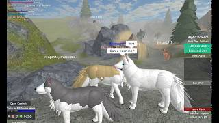 Roblox Wolves' Life 2 Beta - How to f*** any wolf.