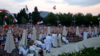 Mladifest Medugorje 2012 (Ave Maria gratia plena)