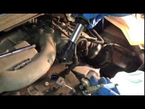 hqdefault how to change spark plugs in a buick rendezvous youtube  at fashall.co