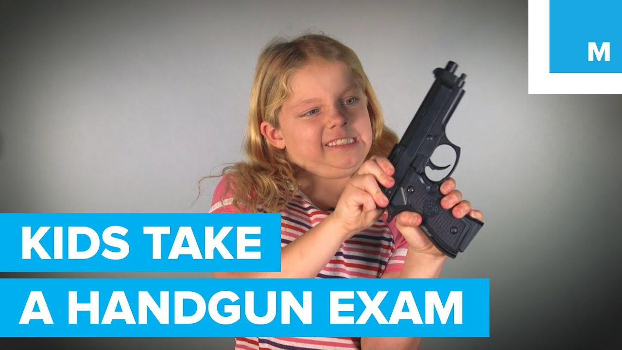 Download Can 3 Kids Pass a Handgun Licensing Exam? | Mashable