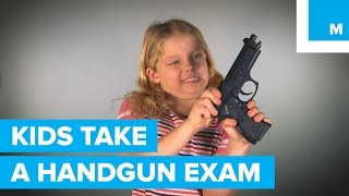 Can 3 Kids Pass a Handgun Licensing Exam? | Mashable thumbnail
