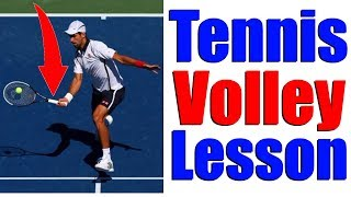 How To Hit Perfect Tennis Volleys In 3 Steps