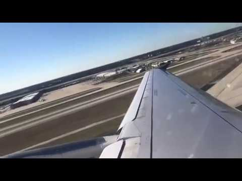 United Airlines A320 Takeoff Atlanta To Dulles