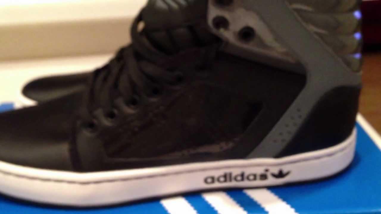 Adidas Originali Dga Revisione Alto Ext Nero / Grigio Colorway Revisione Dga Su Youtube 656102
