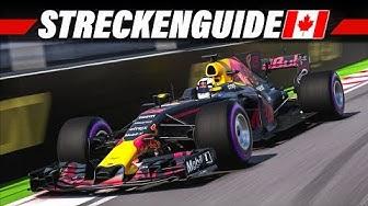 F1 2017 Montreal, Kanada GP Streckenguide | Formel 1 2017 Tutorial Deutsch 4K Gameplay German