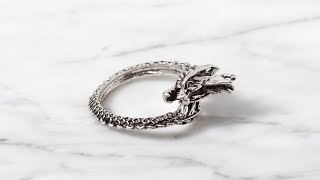 남자친구 여자친구 선물로 좋은 반지 추천! 빈티지 미니…