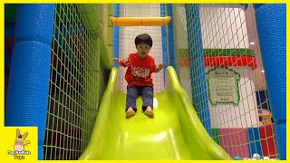 Tayo Bus Car Kid Indoor Playground Family Fun Play Area for kids ♡ maze runner  | MariAndKids Toys