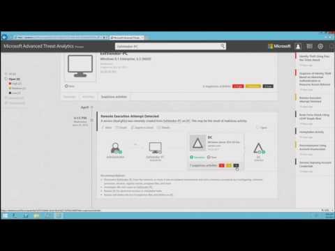 Advanced Threat Analytics Demo