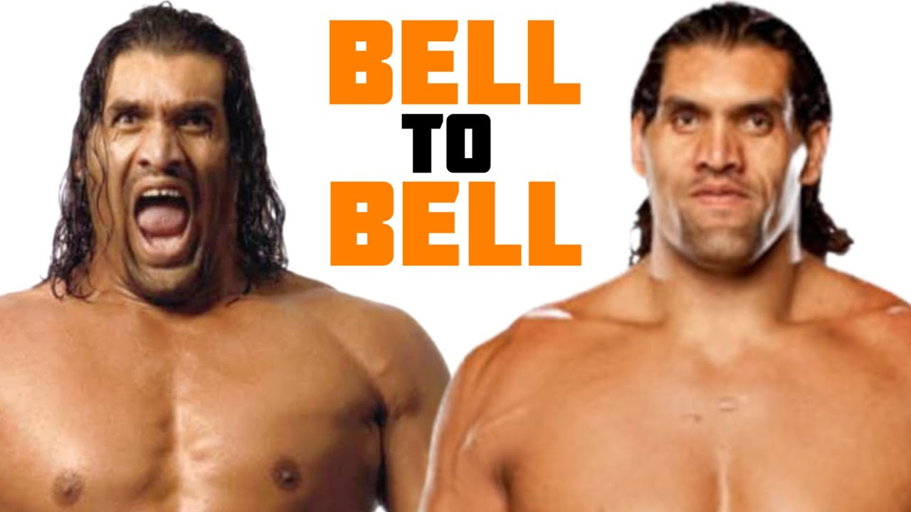 The Great Khali's First and Last Matches in WWE - Bell to Bell