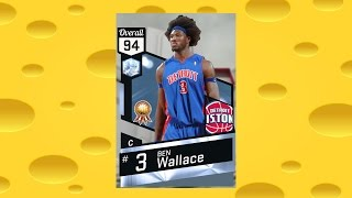 diamond ben wallace debut and the cheesiest 2k17 game nba 2k17 my team gameplay