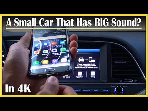 2017 Hyundai Elantra Stereo System Review in 4k UHD! | DriveAndBeDriven Stereo System Impressions!