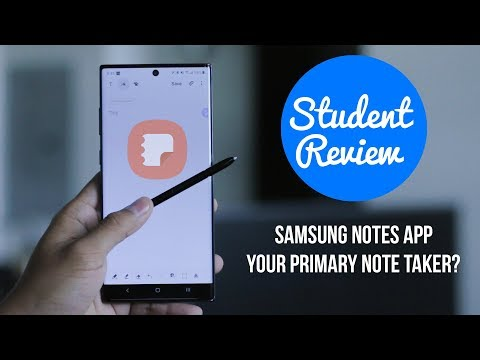 """Samsung Notes App Review   Galaxy Note 10+   It's Just """"Okay"""" for Students"""