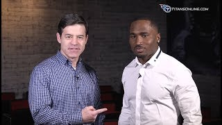 1-on-1 with Titans RB Dion Lewis