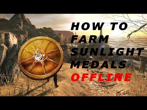 How to Farm Sunlight Medals Offline | Dark souls 2 Tutorial