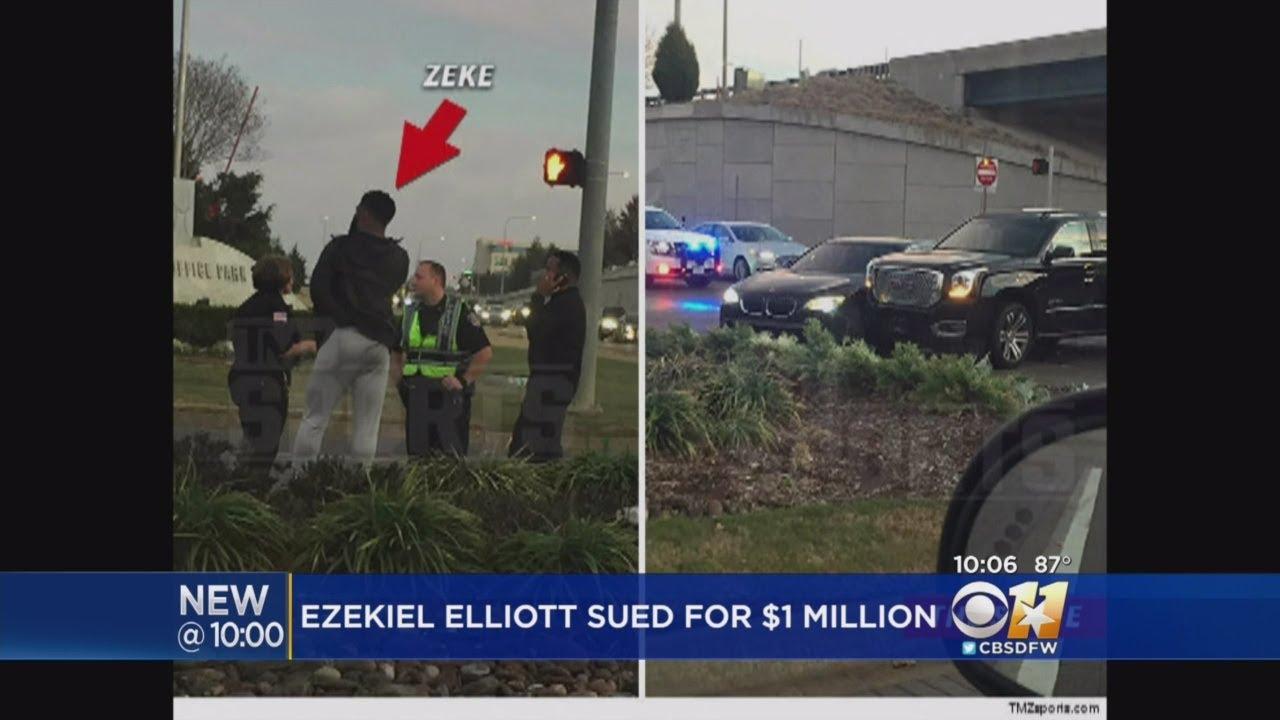 $20 million lawsuit alleges Dallas Cowboys 'cover-up' in Ezekiel Elliott car crash
