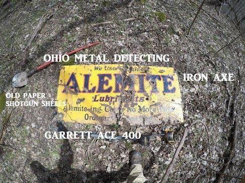 Ohio Metal Detecting BIG Porcelain Sign & MORE Treasure Hunting