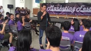 陳柏宇 - 沒有你,我甚麼都不是 20161026 香港科技大學表演