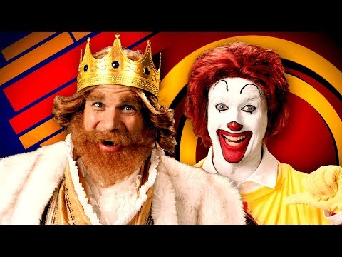 Deuce - Watch: Epic Rap Battles Ronald McDonald Vs. The Burger King