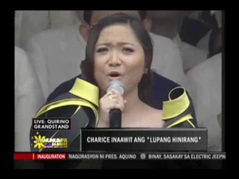 Charice - Lupang Hinirang [Pres. Noynoy Aquino Inauguration, 2010]