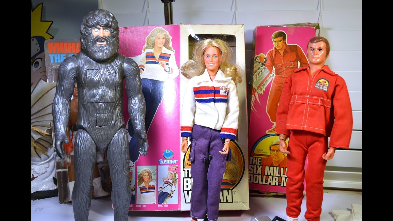 Six Million Dollar Man Bigfoot Steve Austin Jaime Sommers Mego