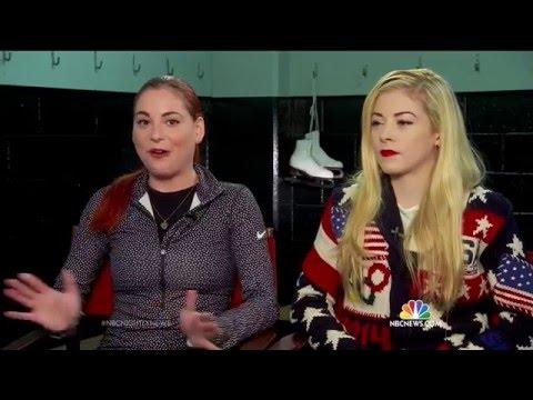 2016 U.S. Nationals - NBC News fluff (Gracie / Carly Gold)