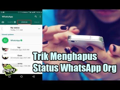 Cara Menghapus Status Orang di Whatsapp Tanpa Aplikasi