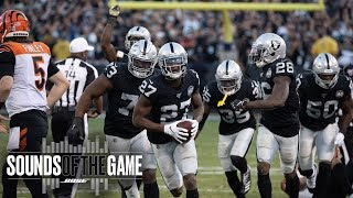 Sounds Of The Game: Week 11 Vs. Bengals | Raiders