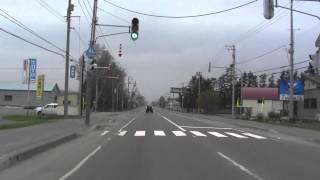 北海道道204号湧別上湧別線 湧別町~上湧別(道の駅) 2014/5/7