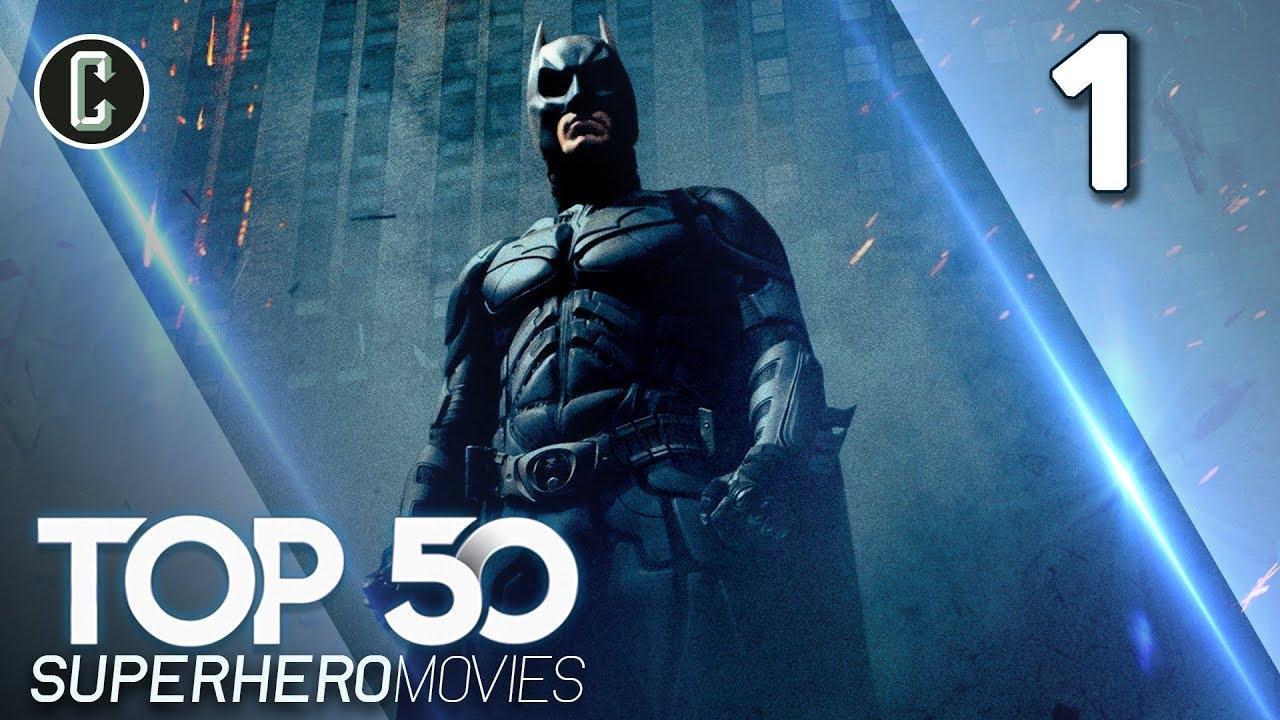 Top 50 Superhero Movies: The Dark Knight   #1