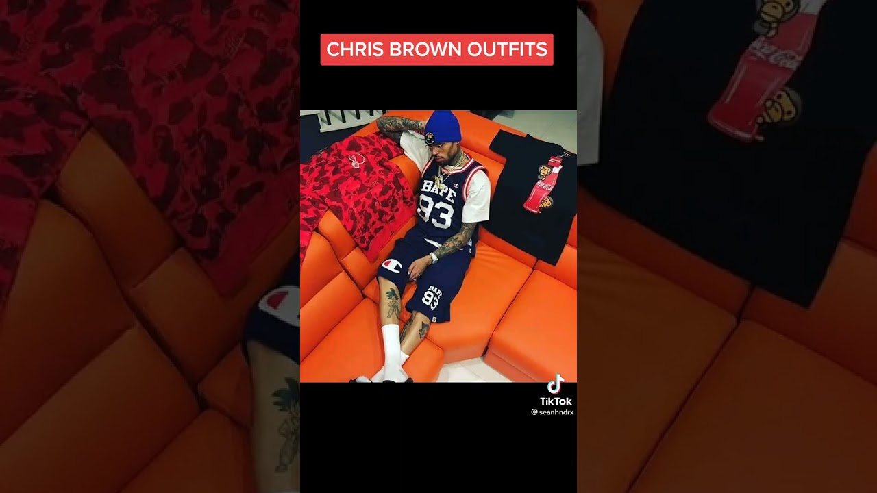 Download Chris Brown's Outfits