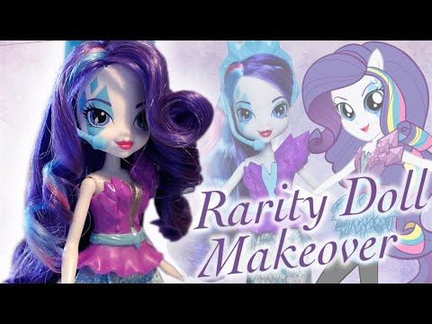 Rarity Doll Makeover ~ Equestria Girls, My Little Pony