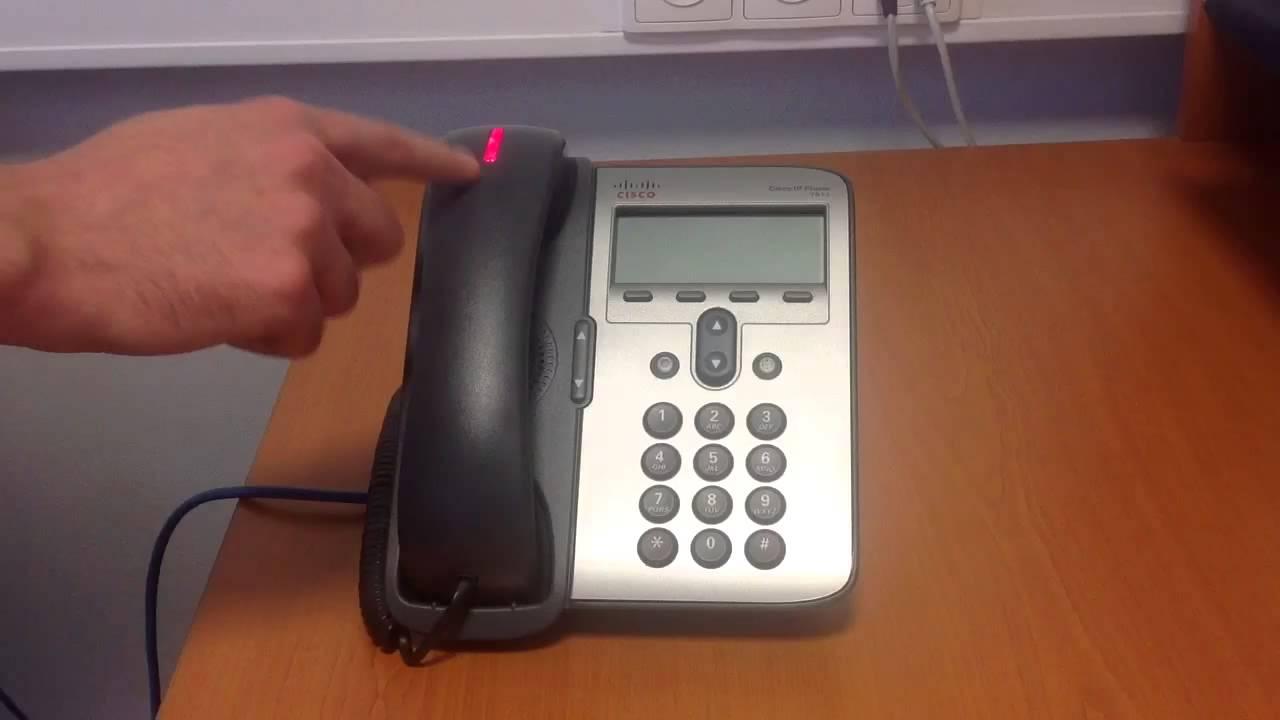 IP phone 7906/7911 factory reset