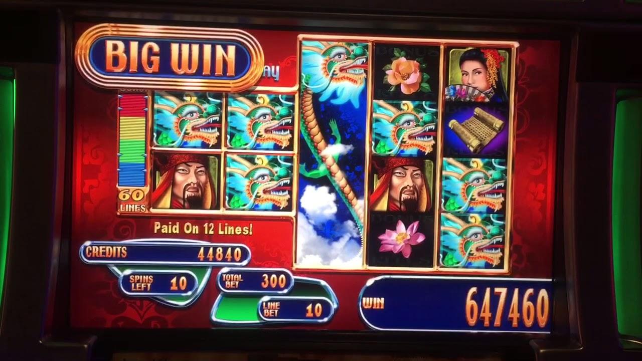Dragon Slot Machine Big Win