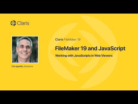 FileMaker 19 and JavaScript