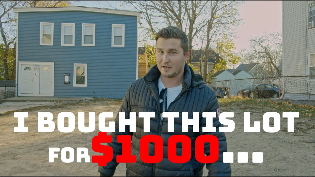 WOLLASTON WEDNESDAY #67: How I bought a piece of land for $1000