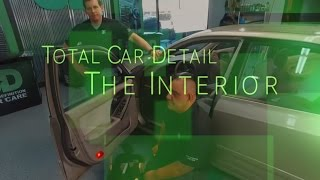 How to Clean The leather and fabric and cup holder with microfiber inside your automobile automotive