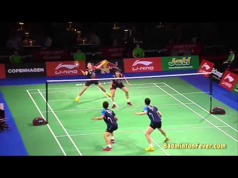 Badminton Highlights - 2014 World Championships - MD Finals