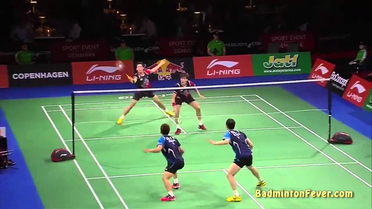 Badminton Highlights 2014 World Championships Md Finals Youtube