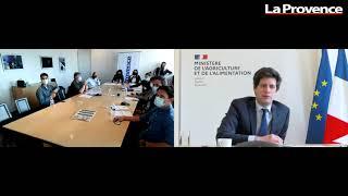 """Face aux lecteurs : """"Pas de pays fort sans agriculture forte"""" pour Julien Denormandie"""