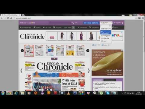 how to read deccan chronicle newspaper online for Free #2