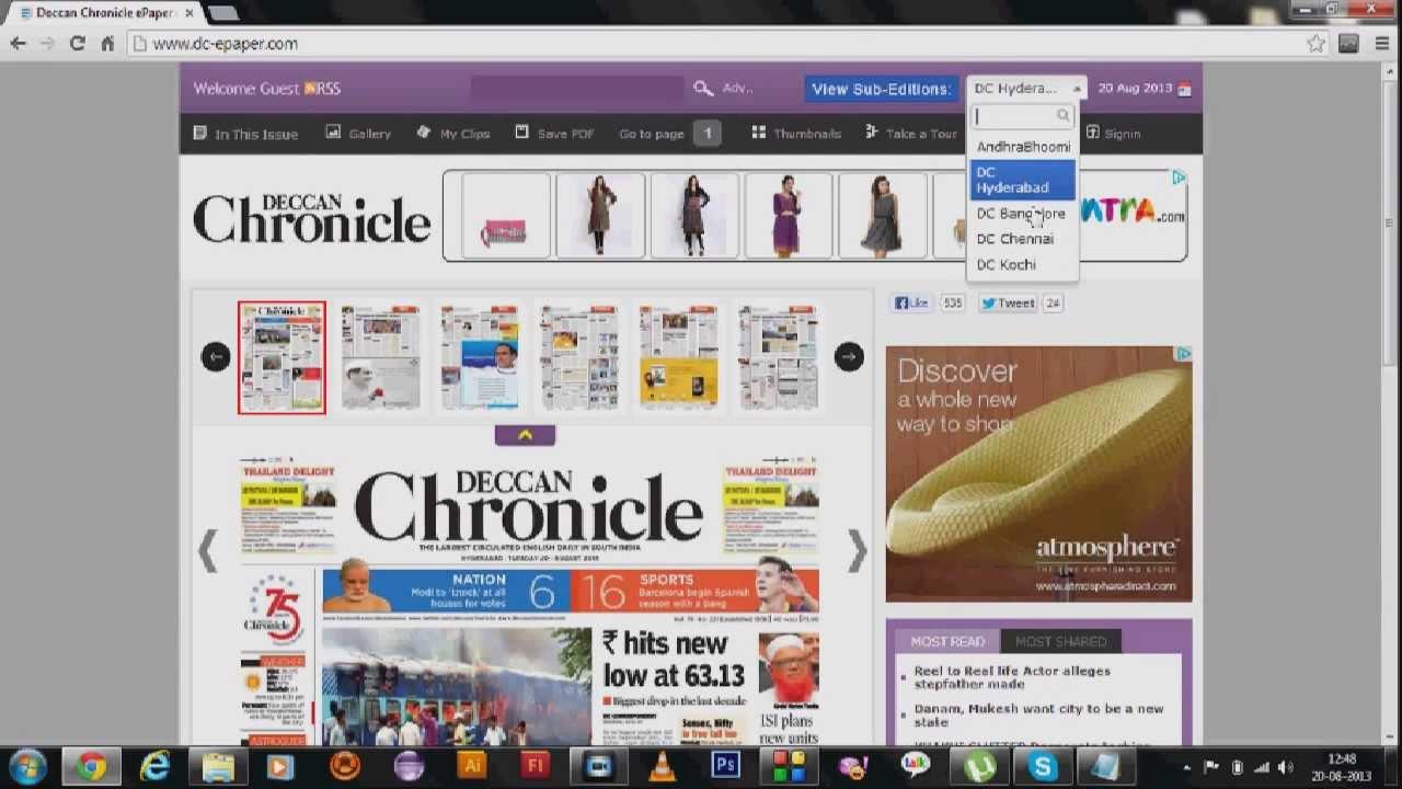 Deccan Chronicle Epaper Pdf