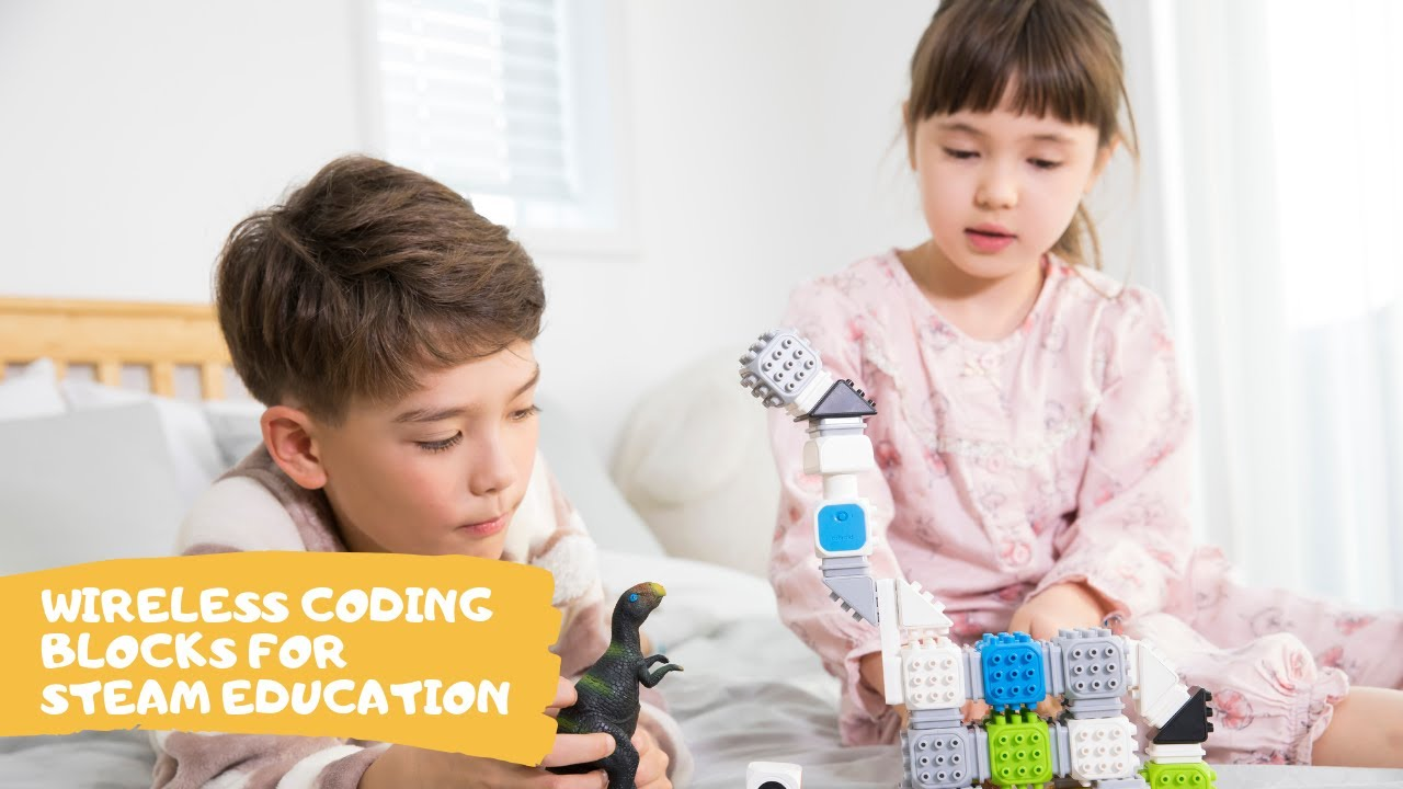 Start Your STEAM Education with Cubroid Coding Blocks