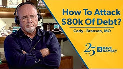 How To Attack $80,000 Of Debt?
