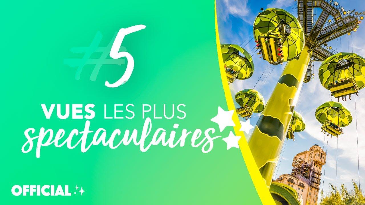 5 vues les plus spectaculaires de Disneyland Paris ! 👀