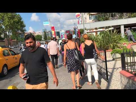 A walk from Harbiye to Sisli, Istanbul