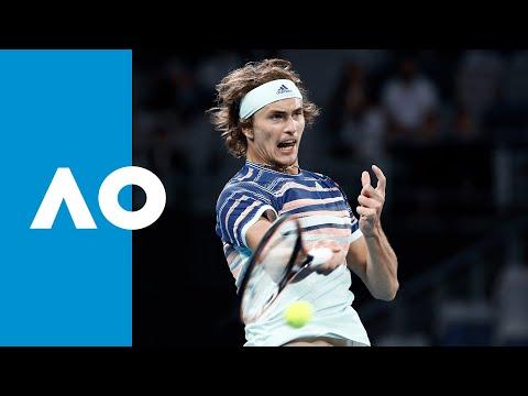 Andrey Rublev Vs Alexander Zverev - Match Highlights (4R) | Australian Open 2020