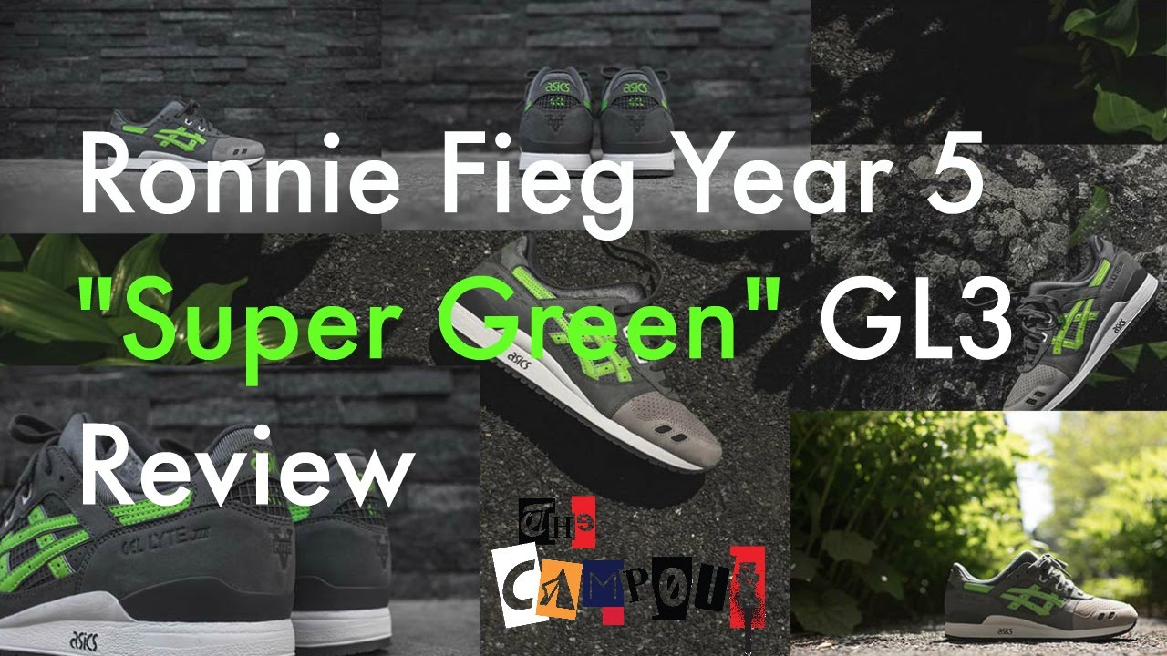 sports shoes 3965d 80b0e Ronnie Fieg X Asics Gel Lyte 3