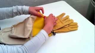Imker Leder Handschuhe