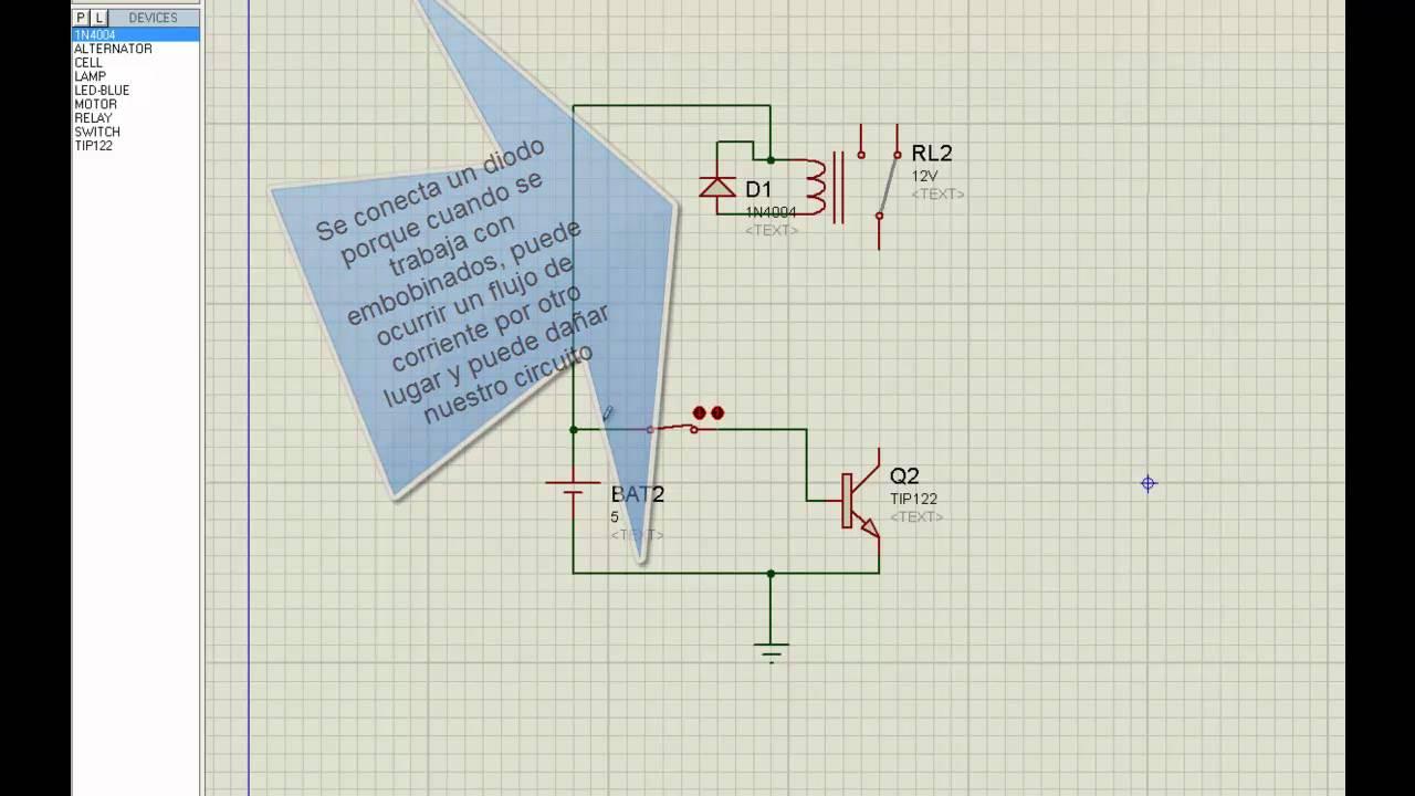 Relay Proteus Youtube Circuito De Sensor Luz Com Ldr Te1