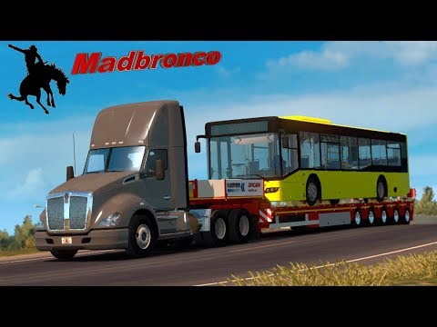ats Driver for Hire ep26 - Orlando to Ft Lauderdale (10t Bus)